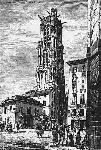 Saint Jacques de la Boucherie. Début XIXème siècle