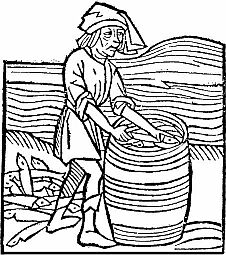 Le hollandais William Beukels est réputé avoir inventé vers 1420 la caque, une méthode de conservation des harengs salés en tonneau à l'abri de l'air.