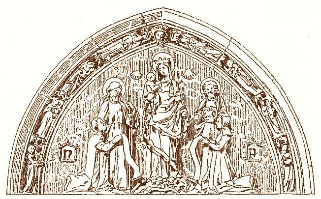 Portail de Flamel, Saint Jacques  de la Boucherie