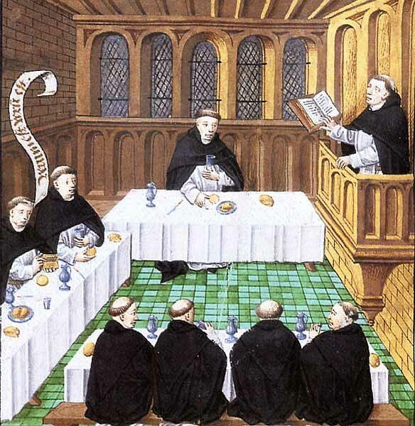 Au confluent de trois logiques ecclésiales : la communauté, l'assemblée, le service public dans Communauté spirituelle repas-moines